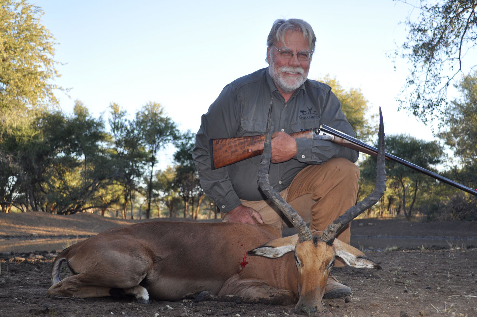 Impala Taken with 20ga Shot & Ball Slug Gun